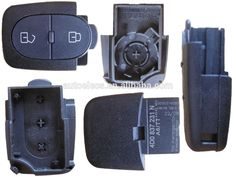 High quality 2 button Remote Key Shell for Audi car key cover Audi Remote Key CR2032 battery