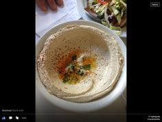 Hummus, AITO ohje Tel Avivista   Alkuruuat, Kasvis, Lisukkeet   Soppa365 Hummus, Cooking Recipes, Ethnic Recipes, Food, Inspiration, Biblical Inspiration, Chef Recipes, Essen, Eten