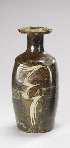 David Leach _ a bottle Vase