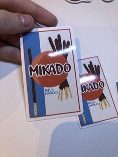 Mikado Sticker Food Stickers Pocky Sticker Aesthetic | Etsy Food Stickers, Cheap Stickers, Name Stickers, Aesthetic Stickers, Cute Designs, I Shop, Craft Supplies, How To Draw Hands, Packaging