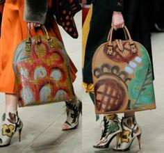 Diy maxi bolso pintado inspirado en Burberry Prorsum