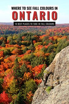 Fall in Ontario is the most magical time of year to get out and explore back roads, small towns and go leaf-peeping. Here are the 10 best places to see the fall colours in Ontario I where to go in Ontario I places to go in Ontario I fall in Ontario I autumn in Ontario I Ontario in fall I Ontario fall colours I fall destinations in Ontario I where to go in Ontario in Fall I Ontario travel I fall in Canada I fall travel in Ontario I fall road trips in Ontario I autunm in Ontario I #Ontario #Canada Beautiful Places To Visit, Cool Places To Visit, Places To Travel, Canada Travel, Travel Usa, Montreal Travel, Ontario Parks, Alberta Travel, Discover Canada