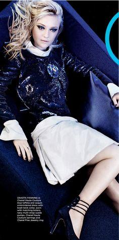 Dakota Fanning - California Style Magazine, May 2012