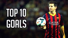 Lionel Messi ● Top 10 Goals Ever Top 10 Goals, Messi Goals, Football Gif, Best Player, Lionel Messi, Sports, Youtube, Soccer Usa, Tops