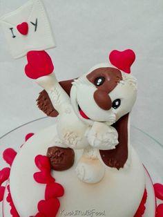 S Valentino cake topper  by Donatella Bussacchetti