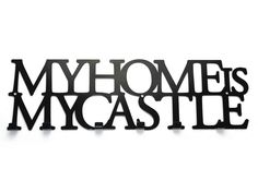 Wieszak My home is my castle