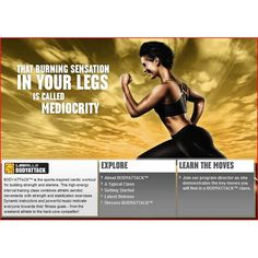 Les Mills Body Attack: love it = results