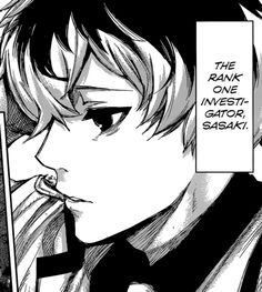But also... SS rank ghoul Sasaki Haise