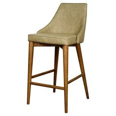"Erin 29.5"" Barstool Wood - New Pacific Direct : Target"