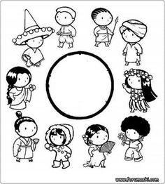23 Nisan Boyama Sayfaları - Forum Aski - Türkiye'nin En Eğlenceli Forumu Coloring Books, Coloring Pages, World Thinking Day, Christian Crafts, World Peace, Sewing Crafts, Crafts For Kids, Preschool, Snoopy