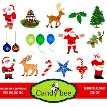 christmas-digital-clipart-cover Page