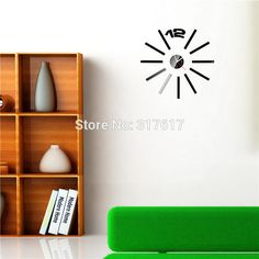Store - Amazing prodcuts with exclusive discounts on AliExpress Mirror Wall Clock, Shelves, Home Decor, Shelving, Decoration Home, Room Decor, Shelving Units, Home Interior Design, Planks