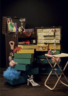 Louis Vuitton x Cindy Sherman #CelebratingMonogram Collection