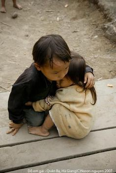 A hug can say what words cannot.