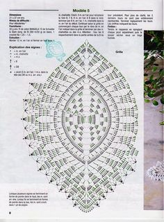 Diy Crafts - View album on Yandex. Crochet Leaf Patterns, Crochet Doily Diagram, Crochet Chart, Filet Crochet, Crochet Motif, Crochet Doilies, Beading Patterns, Crochet Sunflower, Crochet Leaves