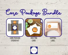 Halloween Care Packages, Deployment Care Packages, Halloween Greetings, Shipping Label, White Envelopes, Greeting Cards, Packaging, Kit, Stickers