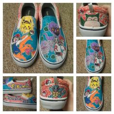 Pokemon, Sharpie Shoes, Forever Memories, Digital Certificate, Sharpie Markers, Gold Polish, Crazy Shoes, Wedding Ring Bands, Anniversary Gifts