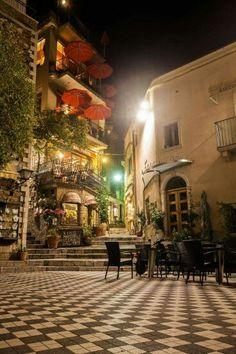 Bar Turrisi in Castelmola, Sicilia