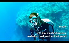 Freediving How to hold your breath longer - Breathe up techniques