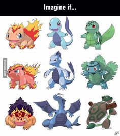 I'll be frank wit you. I finished the type swapped starter Pokemon! Festa Pokemon Go, Mega Pokemon, Pokemon Funny, Pokemon Memes, Pokemon Fan Art, Pokemon Fusion, Pokemon Soulsilver, Pokemon Breeds, Pokemon Pictures