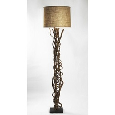 Stacked horn floor lamp by jamie young company natural elegance by candelabra lighting home decor zentique vine floor lamp aloadofball Image collections