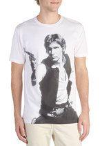 Keep Calm and Carry Han Men's Tee | Mod Retro Vintage Mens SS Shirts | ModCloth.com