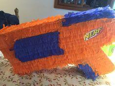 Nerf Gun Piñata by PerkyPartyFavors on Etsy