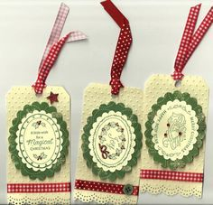 Justrite Christmas tags by meemee48 - Cards and Paper Crafts at Splitcoaststampers