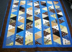 Barb Karn of Arden Hills, MN made and donated this quilt to Hopes & Dreams.