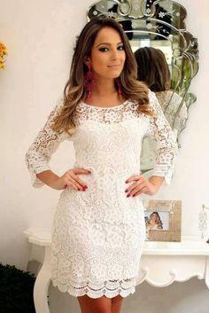 Look! Маленькое белое платье! 4