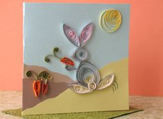 Thumper's Greeting Card by Cindy Littlefield