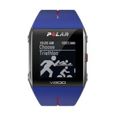 Polar V800 GPS Sport Watch with Heart Rate Monitor Blue