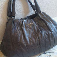 a0172226960dd My Posh Picks · Prada Handbag Authentic Prada Leather bag . Great condition  . Dusty bag . ❌❌❌