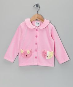 Cat's Meow Cardigan how cute is this? Sweet Potatoes & S.P.UDZ @zulily