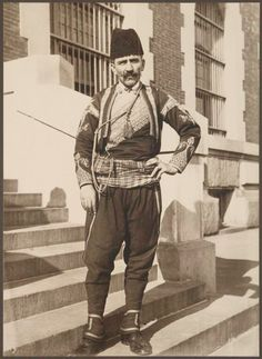 """fuckyeahanatolia: """" Another wikipædia find: """"   A Turkish immigrant in New York (1912). """" """""""