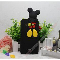 Novedad Carcasa 3D silicona diseño mickey para Galaxy Grand Neo plus