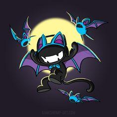 Zucat Monsterbat by Nanaga on DeviantArt