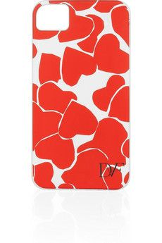 DVF heart iPhone case