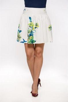 Fusta cu imprimeu Ballet Skirt, Floral, London, Skirts, Collection, Fashion, Moda, Tutu, Skirt