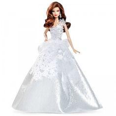 2013 Holiday Barbie-Brunette