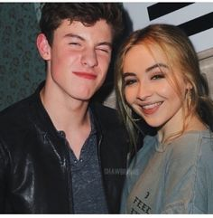 Sabrina Carpenter and Shawn Mendes