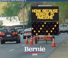 #FeelTheBern! #VoteBernie!