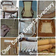 Chair Caning & Seatweaving Repair Directory™--Find your restoration expert here!