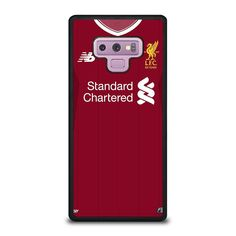 LIVERPOOL FOOTBALL JERSEY KIT Samsung Galaxy Note 9 Case - Best Custom Phone Cover Cool Personalized Design – Favocase