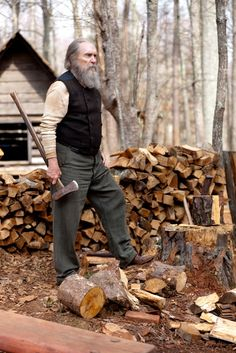 I can't wait to chop some wood and smoke pipes this fall/winter. That's my favorite.