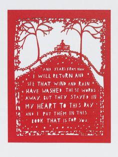 And years from now... Rob Ryan, V Search the Collections