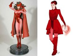 Scarlet Witch | 12 Lady Superhero Costumes Redesigned By Ladies