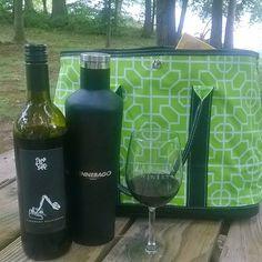 Spending the day at Tarara Winery calls for a Vinnebago and a #ScoutBag! #Tarara…
