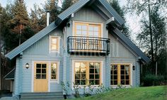 """Rovaniemi log house from Finland: model """"Classic Finnish Log home"""""""