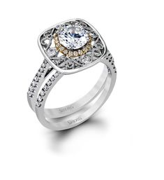 f5bed14ad288c4 Simon G Lacey Bridal Set - Barsky Diamonds Engagement Ring Styles, Bridal  Sets, Jewelry